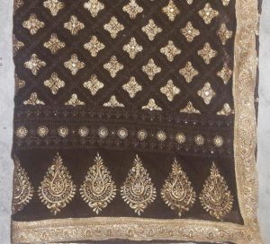 Embroidery Designs of Saree