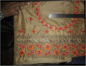 Blouse with Back Blouse