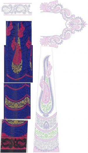 new best chain stitch lehenga