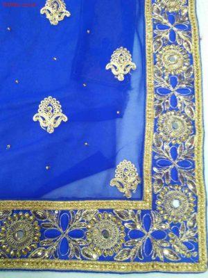 Cording Saree Design