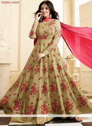 fancy lehenga gown
