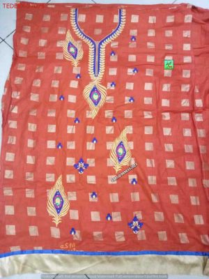 Embroidery Designs of Single Head Dress
