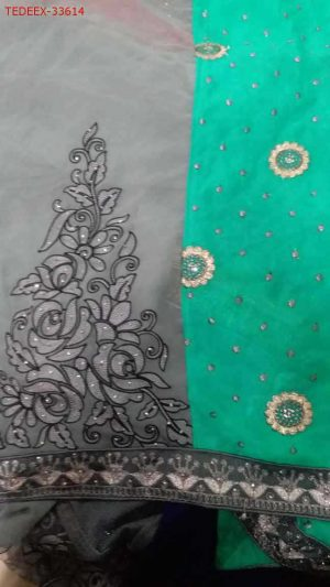Chain Pallu+Patli saree
