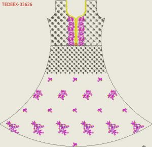 uref design anarkali dress