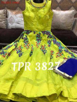 anrkali  dress