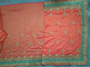 packing concept saree