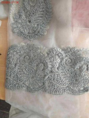 panel with butta saree