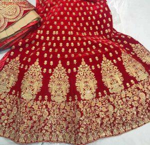 figure concept bridal lehengha