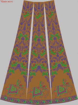 figure concept lehengha