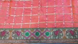 figure concept boder saree