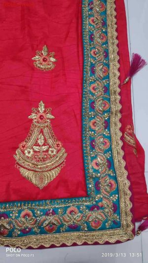 penal concept packing saree