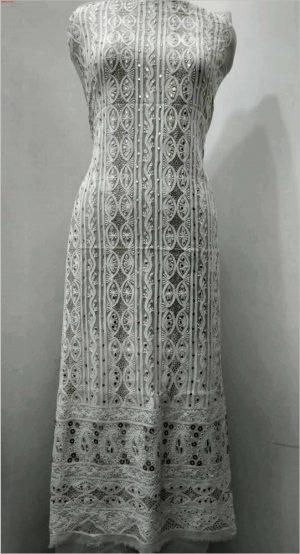 new lakhnavi allover garment