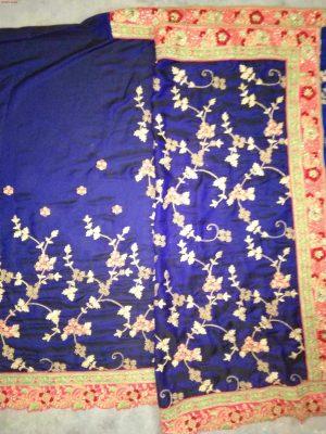 jaal concept cut -work saree