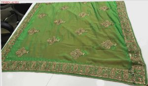 butta concept packing saree
