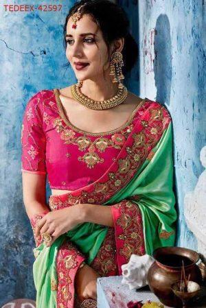 boder concept packing saree