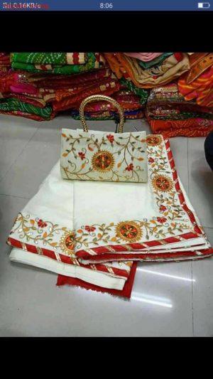 sticker concept saree