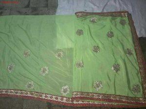 sticker concept packing saree