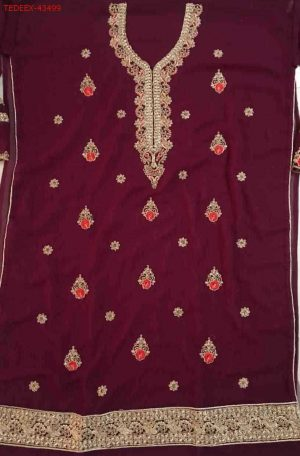 penal top dupatta with plazo