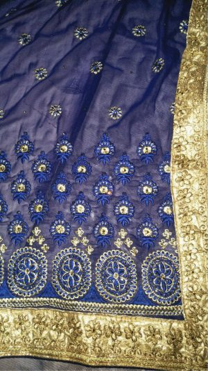 only pallu and skirt – lace not available