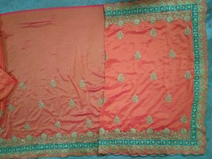 cut-work concept packing saree