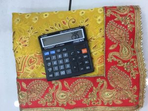 boder concept packing saree with blouse