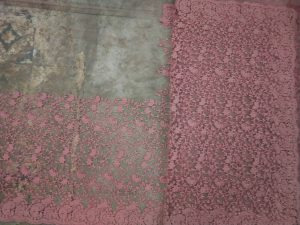 ton to ton jaal concept cut-work c-pallu saree