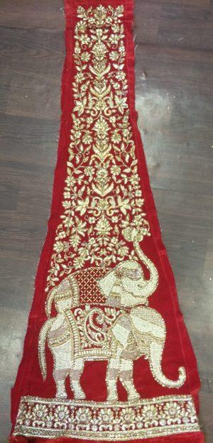 figure concept , bridal lehengha
