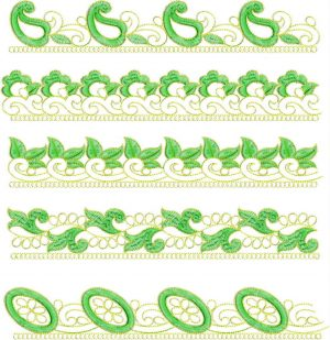 Lace / Border Design , 5 lace
