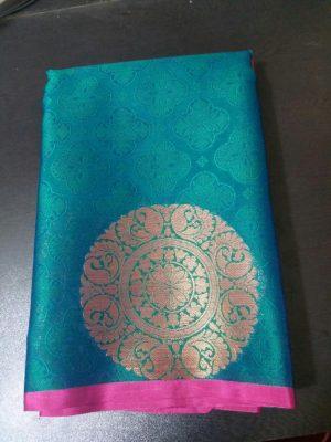 butta saree , single jari , packing saree