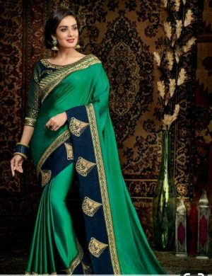 single jari ,cut- pest concept panel saree