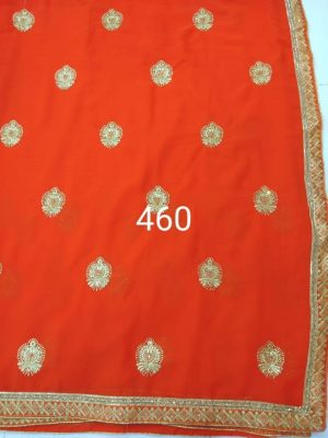 butta concept , single jari , diamond test saree