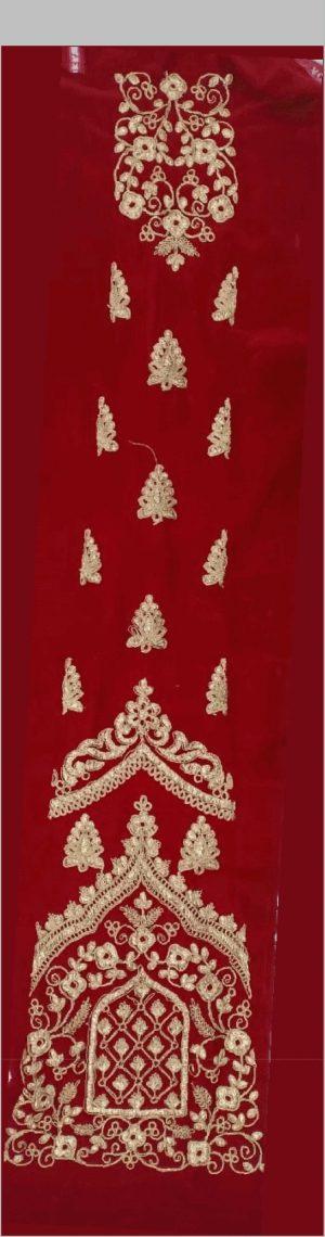 bridal lehenga kali+blouse