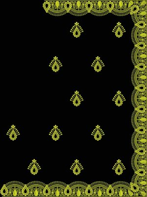 Diamond test c pallu saree