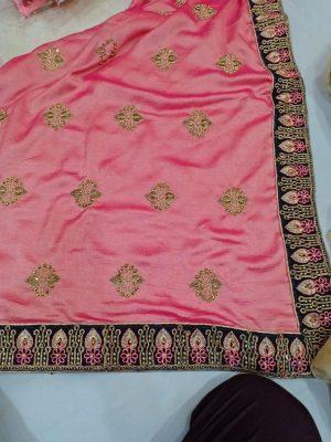 butta concept packing saree
