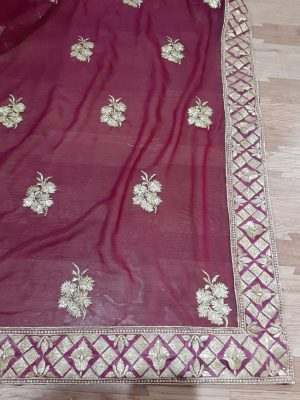 butta concept , packing , single jari saree