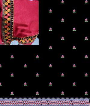 butta concept , packing saree