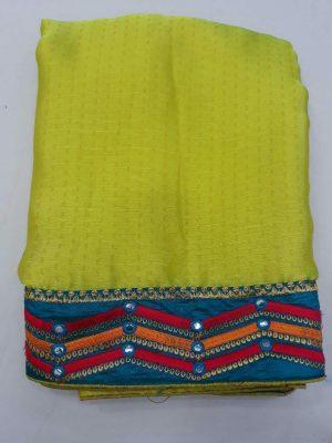 border concept saree