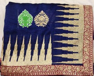 box pallu , packing , diamond test saree
