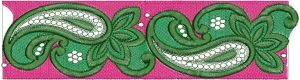cut work lace design