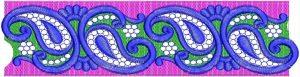 diamond tet lace design