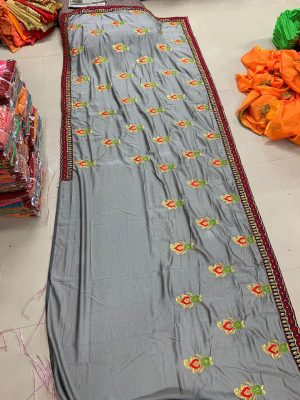 vichitra lace butta concept packing saree