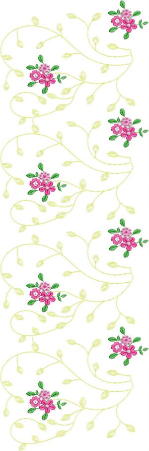 jaal All over garment Design