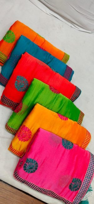 butta concept , packing saree