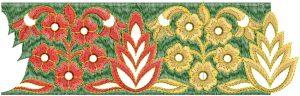 Lace / Border Embroidery Design