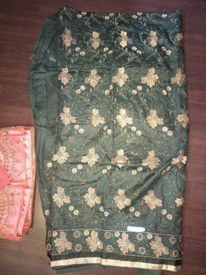 Daman Top & Duppata Embroidery Design