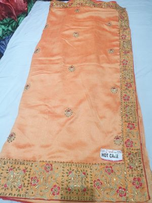 lace butta concept , packing saree