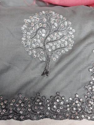 c pallu ,ton to ton , packing , diamond test saree