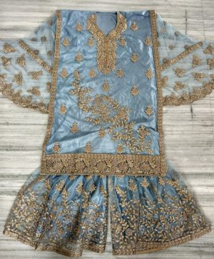 Plazzo and Bottam concept anarkali Dress