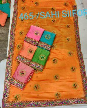 butta concept saree