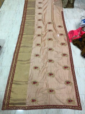 Cut Past Pallu Skt Lace